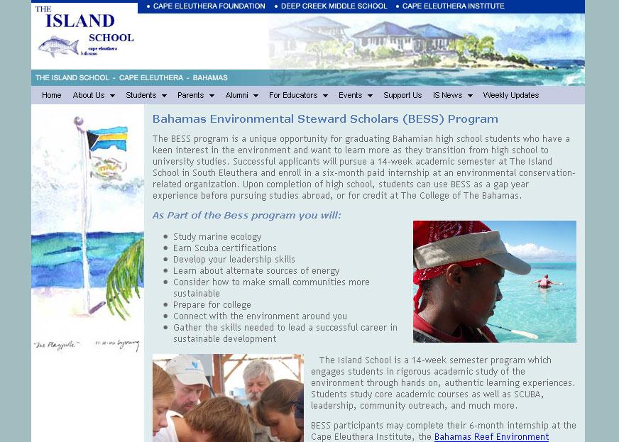 (2006) Cape Eleuthera Island School Website