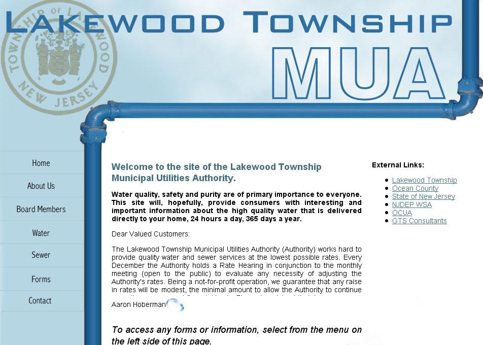 (2007) Lakewood MUA Website
