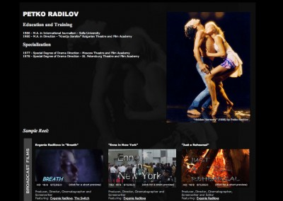 (2007) Petko Radilov Website