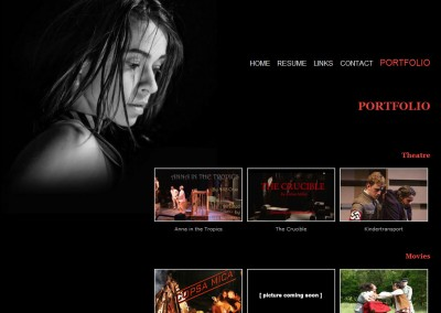 (2008) Evgeniya Radilova Website