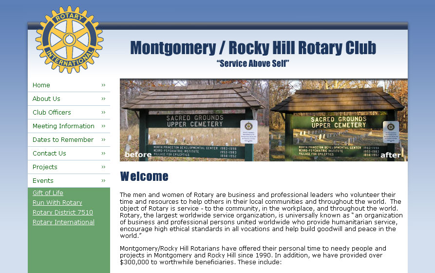 (2008) Montgomery-Rocky Hill Rotary Club Website