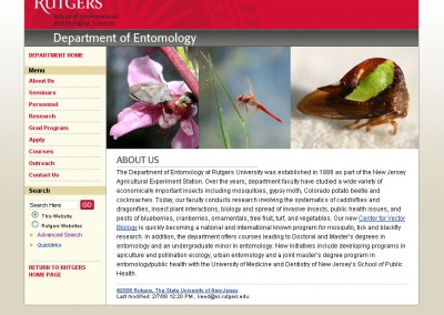 (2008) Rutgers Entomology Website