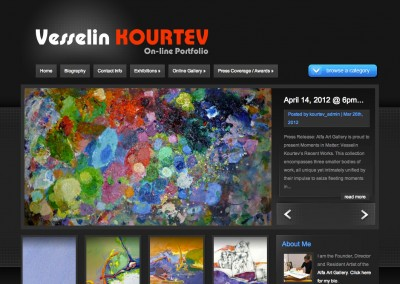 (2011) Vesselin Kourtev Website